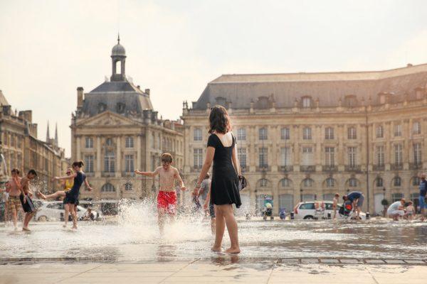 Miroir d'eau, Bordeaux, Francia