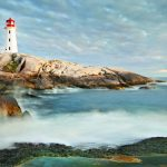 Faro de Peggy's Cove, Nova Scotia