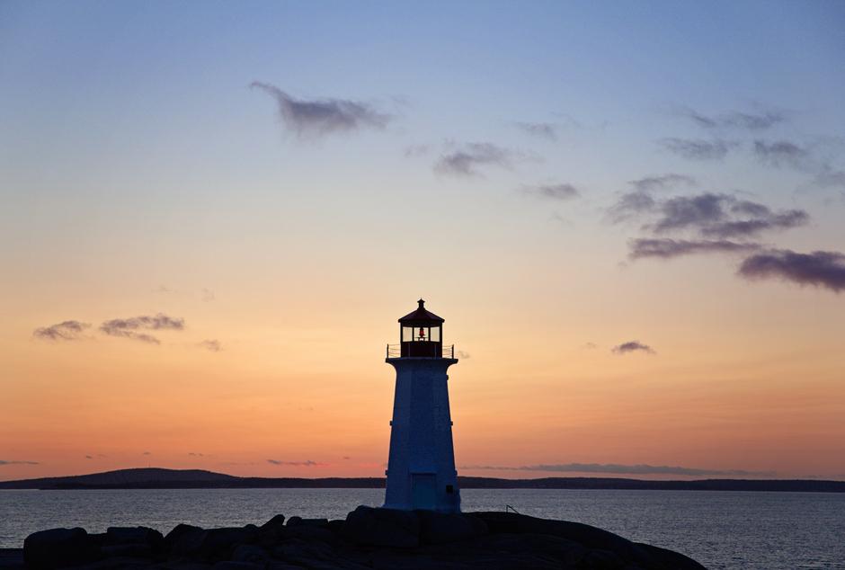 Faro de Peggy's Cove, Nova Scotia