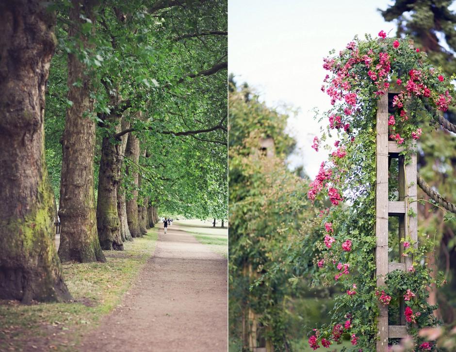Jardines de Londres, Inglaterra