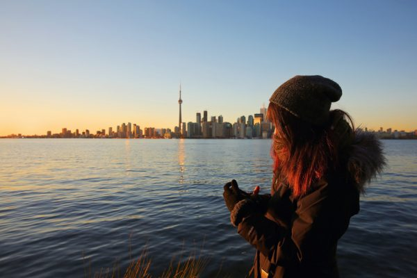 Toronto visto desde Ward's Island