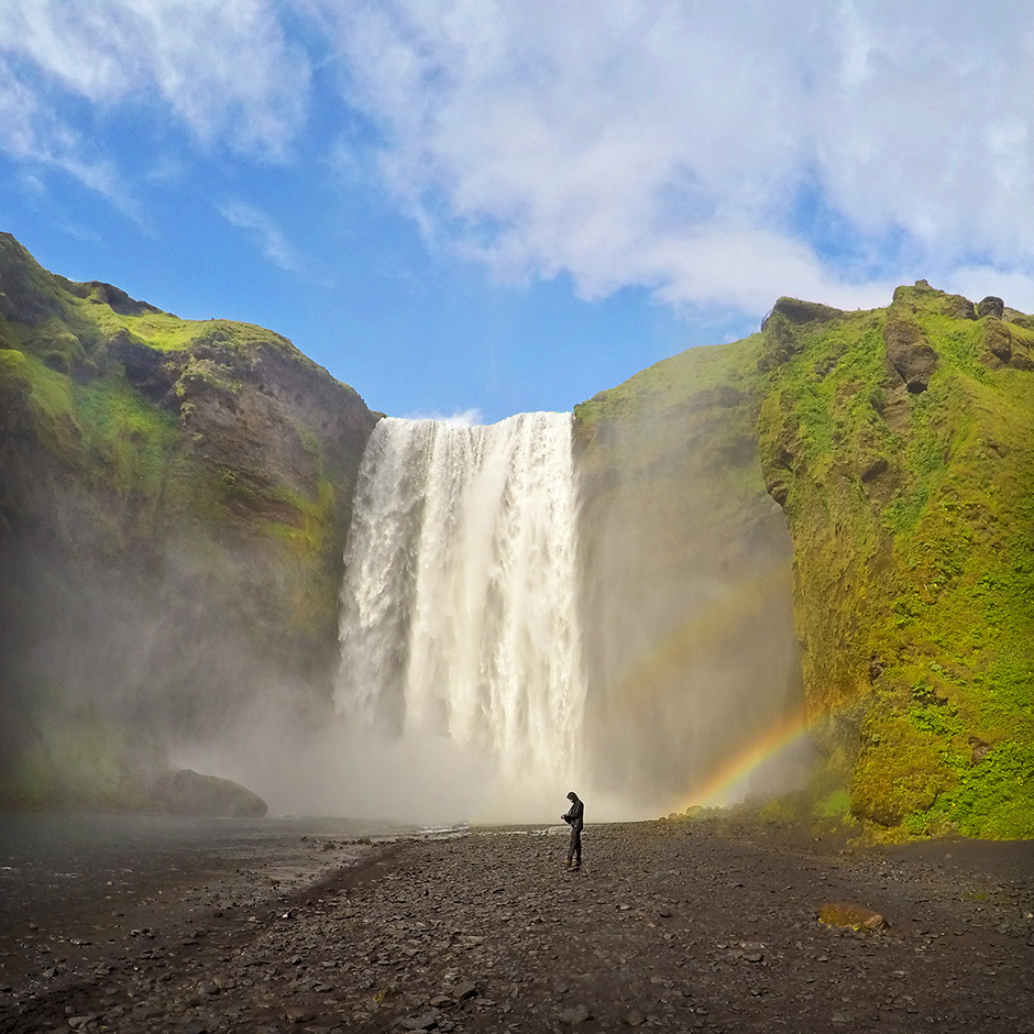 Skógafos, Islandia